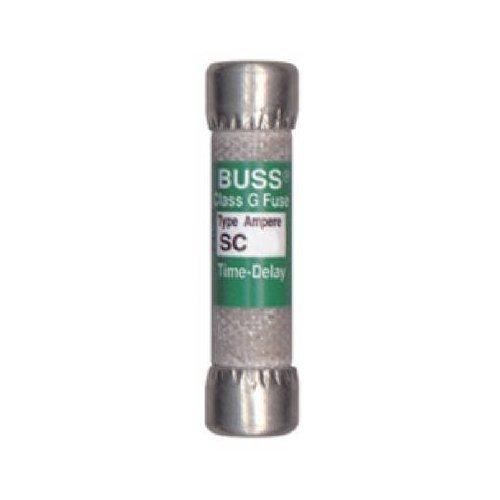 Bussmann Bp/Sc-30 30 Amp Time-Delay Class G Melamine Tube, 600V Ul Listed Carded, 2-Pack