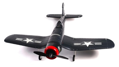 4 Channel Warbird F4U Corsair RTF RC Ready to Fly Electric Airplane Gray Version (Gray Version)