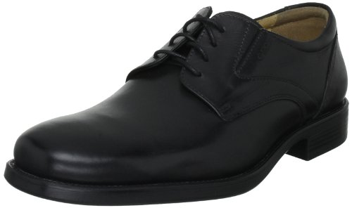 Geox - U FEDERICO V, Derby Lace Up scarpe da uomo, Nero (BLACKC9999), 42