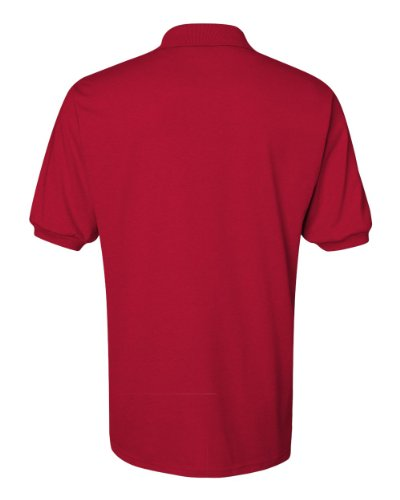 jerzees-437m-adult-50-50-cotton-and-polyester-sport-shirt-true-red-medium