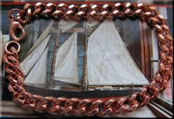 Solid Copper 8 Inch Bracelet 5109
