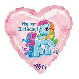My Little Pony Happy birthday party balloon