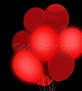 """LED 14"""" Blinky Balloons - Red"""