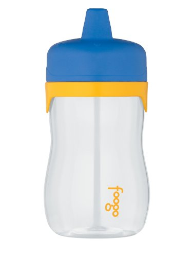 Thermos Foogo Phases Sippy Cup, Blue/Yellow, 11 Ounce front-920378