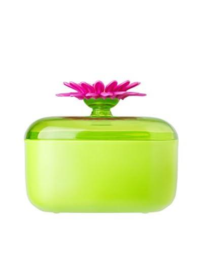Vigar Saliera Flower Power Verde/Magenta