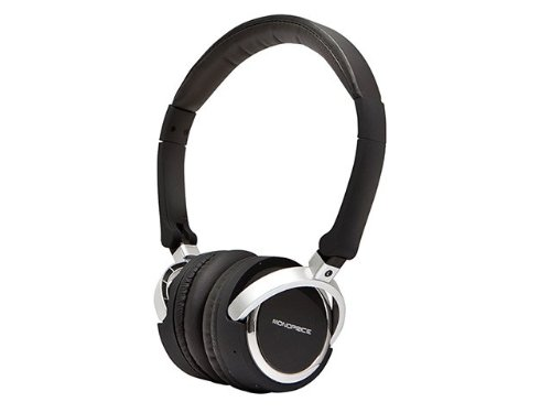 Premium Bluetooth® On-The-Ear Headphone With Built-In Microphone - Black Product No: 9387