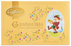 Caffarel Gianduia 1865 Chocolate in Gift Box – 290 grams (10.25oz)