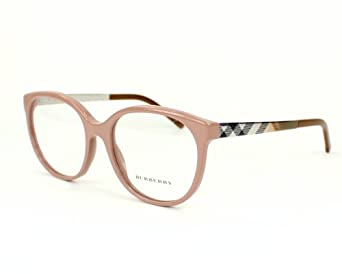Amazon.com: Burberry BE2142 Eyeglasses-3281 Nude-53mm ...