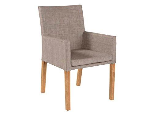 YORK Garten Sessel Textilene Taupe günstig kaufen