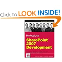 Professional SharePoint 2007 Development (Programmer to Programmer)