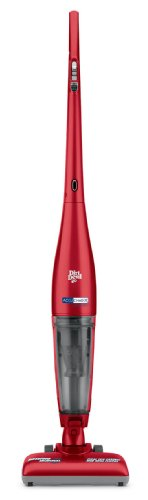Dirt Devil Accucharge 15.6 Volt Cordless Bagless Stick Vac with ENERGY STAR Battery Charger, BD20035RED