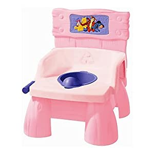 Disney Pooh 3-in-1 Flush & Sounds Potty - pink