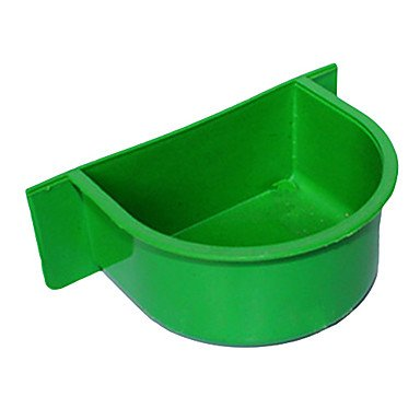 Zcl Small Size Box To Food Feed For Pets Birds , Green , S