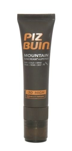 Piz Buin Mountain Suncream SPF 30 & Lipstick SPF 20
