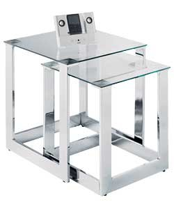 Glass Tables Nest Of Tables Cheap