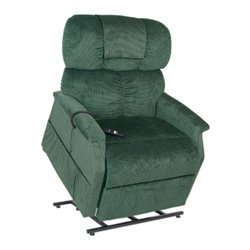 Elite Comforter Extra Wide Tall Dual Motors Lift Chair - Brisa Ultra Leather - Hollyhock - A24557 10
