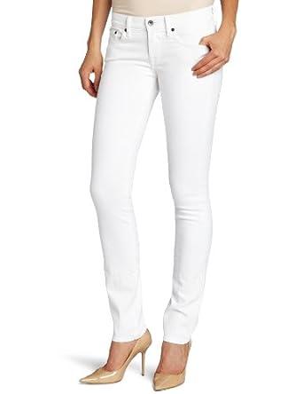 Lucky Brand Women's Sweet N Straight Jean,Alps-White,33x32