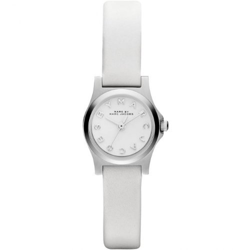 Marc-Jacobs Henry Dinky White Watch Mbm1234