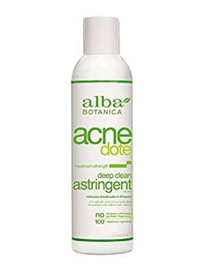 Alba Botanica Natural Acnedote Deep Clean Astringent, 6 oz.