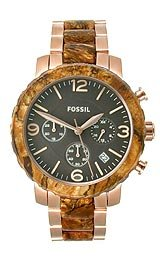 Fossil Natalie Stainless Steel - Two-Tone Women's watch #JR1385