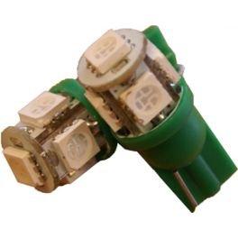 autoled-0022-2-x-bombillas-led-t10-5-x-smd5050-tiras-color-verde