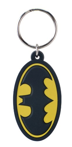 DC Batman Logo Soft Touch PVC Key Ring