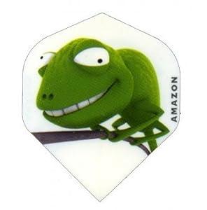Amazon Strong 3D Comic Motive Dart Flights Gecko