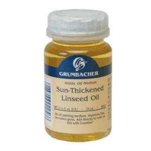 SUN-THICKENED LINSEED OIL 74ml Drafting, Engineering, Art (General Catalog)