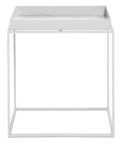 HAY HAY Tray Table - small - weiß HAY, Metall Pulverbeschichtet, Couchtisch - Beistelltisch