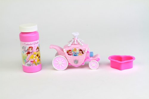 Disney Princess Enchanted Carriage Dip and Blow Bubbles