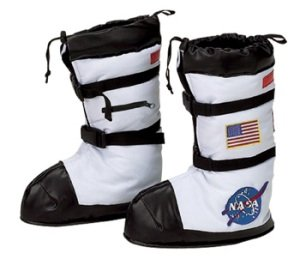 Astronaut Boots Child Small Costume Accessory