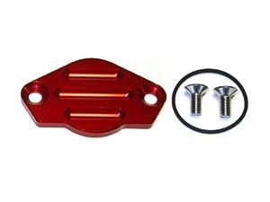 TPO Parts Ducati Crankshaft Inspection Cover - Corsa - Red: Automotive