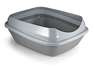 SmartyKat LitterLoo Litter Box for Waste Management, Gray