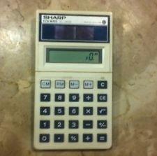 Vintage Sharp EL-526 Solar Cell Scientific Calculator- Made in Japan Quality