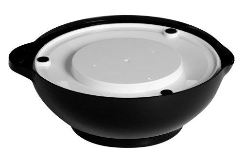 Premier Housewares Balance de cuisine ronde avec bol Plastique Noir 3 kg