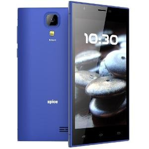 Spice Xlife M5Q+ 5 inch (12.7 cm) 3G Quad Core Android Phone-Blue
