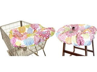 31Gv1rK KqL Itzy Ritzy Ritzy SitzyTM Shopping Cart & High Chair Cover (Fresh Bloom)