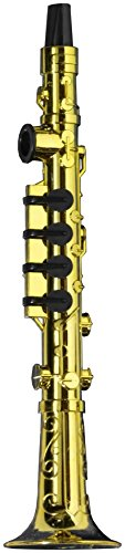 Forum Novelties Gold Clarinet Party Kazoo Play Musical Instrument - 1