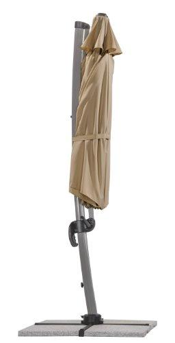 schneider sonnenschirm rhodos rondo sand ca 350 cm 8. Black Bedroom Furniture Sets. Home Design Ideas