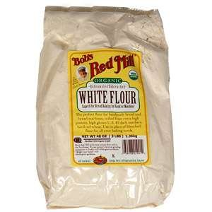 Bob's Red Mill Flour White Unbleached Organic, 5-Pound (Pack of 4) (Organic White Bread Flour compare prices)