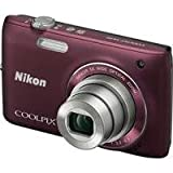 Nikon COOLPIX S4100 14 MP Digital Camera with 5x NIKKOR Wide-Angle Optical  ....