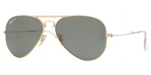 Ray-Ban Folding Aviator RB3479 Sunglasses 001/58-5814 – Arista Frame, Crystal RB3479-001-58-58