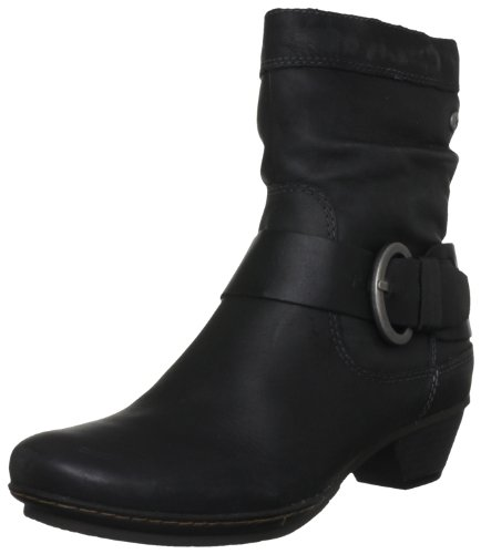 Pikolinos Women's Brujas Black Ankle Boots 801-8003_I12 6 UK, 39 EU