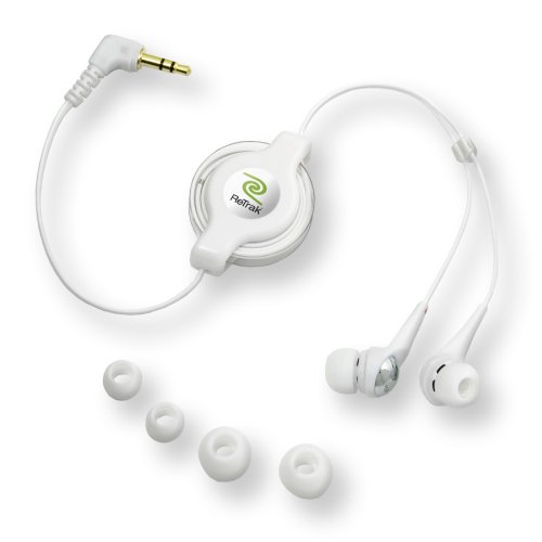 Retrak Retractable Earbuds For Ipod