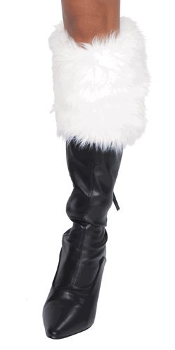 Sexy J. Valentine Faux Fur Christmas Girl Boot Toppers
