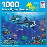 Great American Puzzle Factory Undersea Splendor 1000 Piece Puzzle