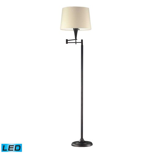 Elk Swingarm Floor Lamp Led Bulb
