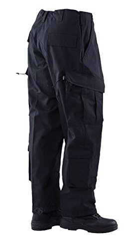 Tru-Spec TAC T.R.U.Trousers 50/50 Nylon/Cotton Rip-Stop, Black, 2XLarge Regular 1392007 cпальный мешок onlitop одеяло 1391036