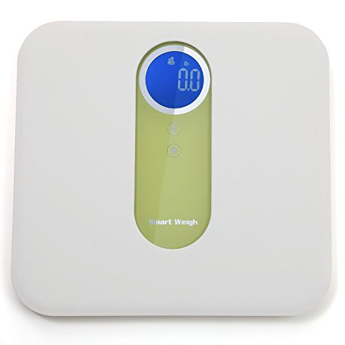 Digital Mother and Baby Bathroom Scale with Ultra Wide Platform, Step-on Technology and LCD Display, 330 lb Capacity