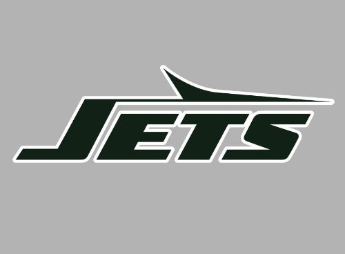 "New York NY Jets Auto Car Wall Decal Sticker 8.25"" X 2.5"" at Amazon.com"